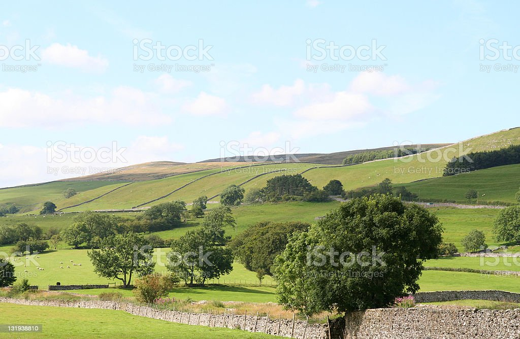 Yorkshire Dales. stock photo