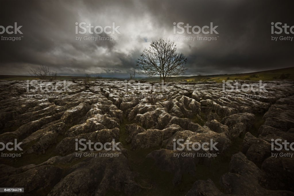 Yorkshire Dales stock photo