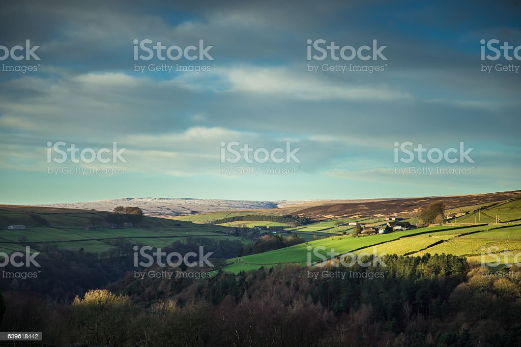 Yorkshire Dales Scenery stock photo