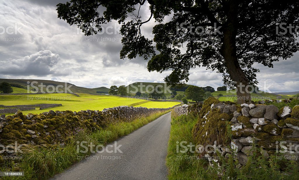 Yorkshire Dales Scenic royalty-free stock photo