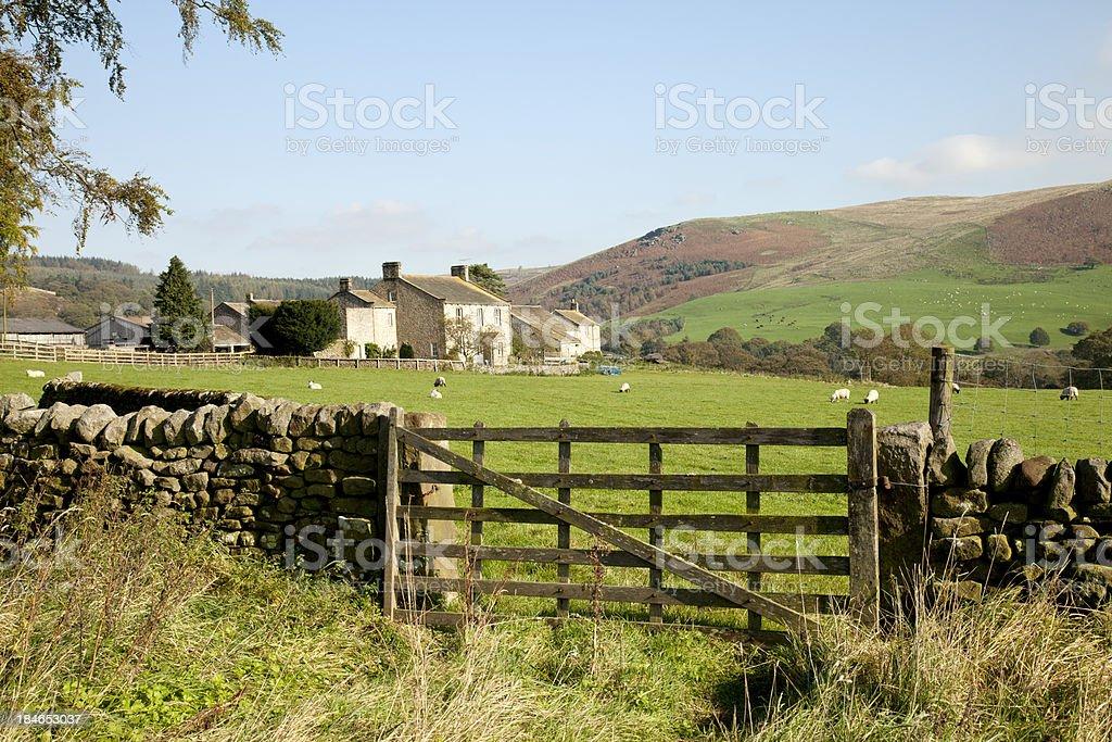 Yorkshire Farm royalty-free stock photo