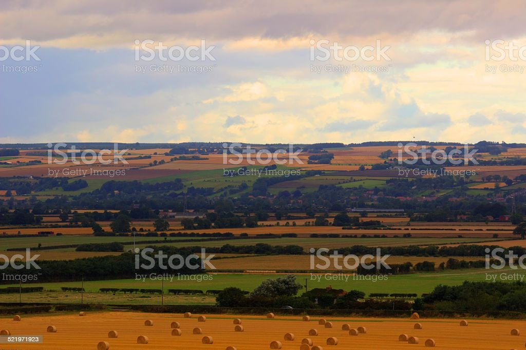 Yorkshire Landscape stock photo