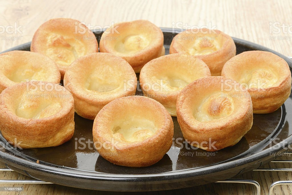 Yorkshire pudding royalty-free stock photo