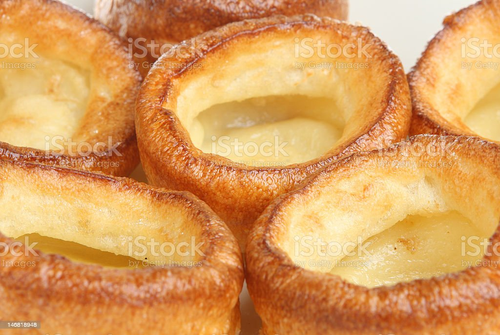 Yorkshire Puddings stock photo