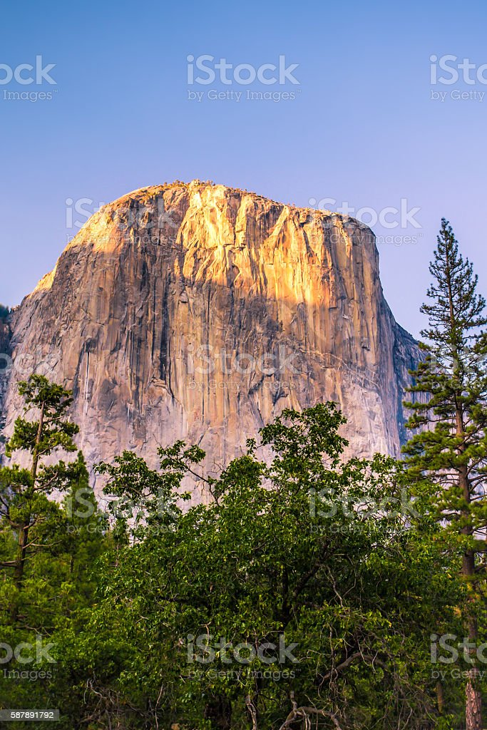 Yosemite El Captain stock photo