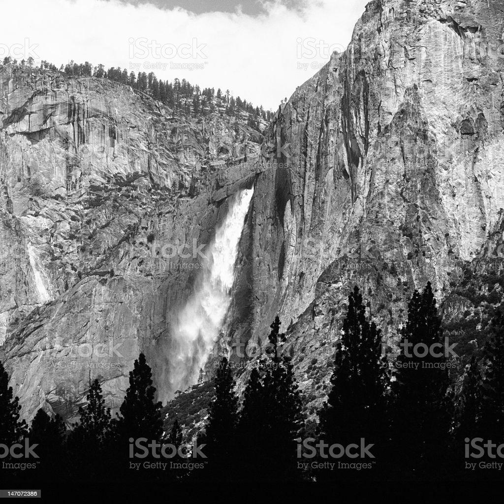 'Yosemite Falls' stock photo