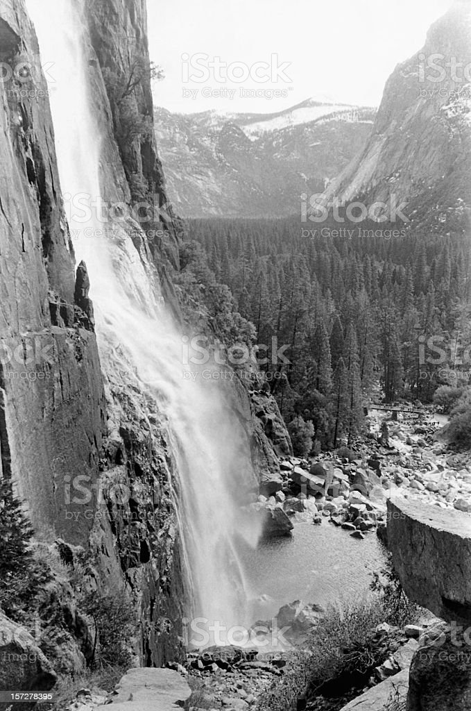 Yosemite Falls royalty-free stock photo