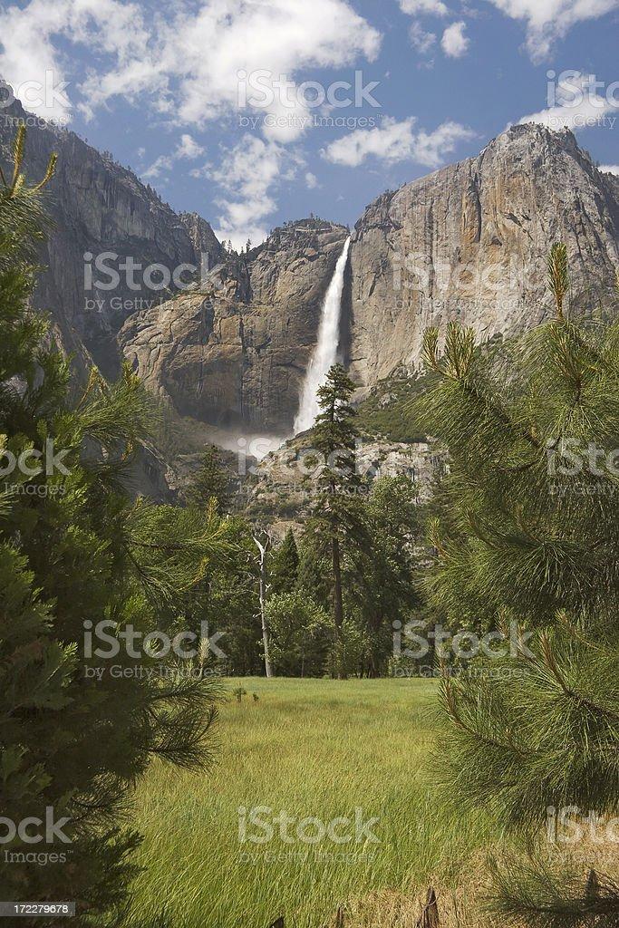 Yosemite Falls royalty-free stock photo