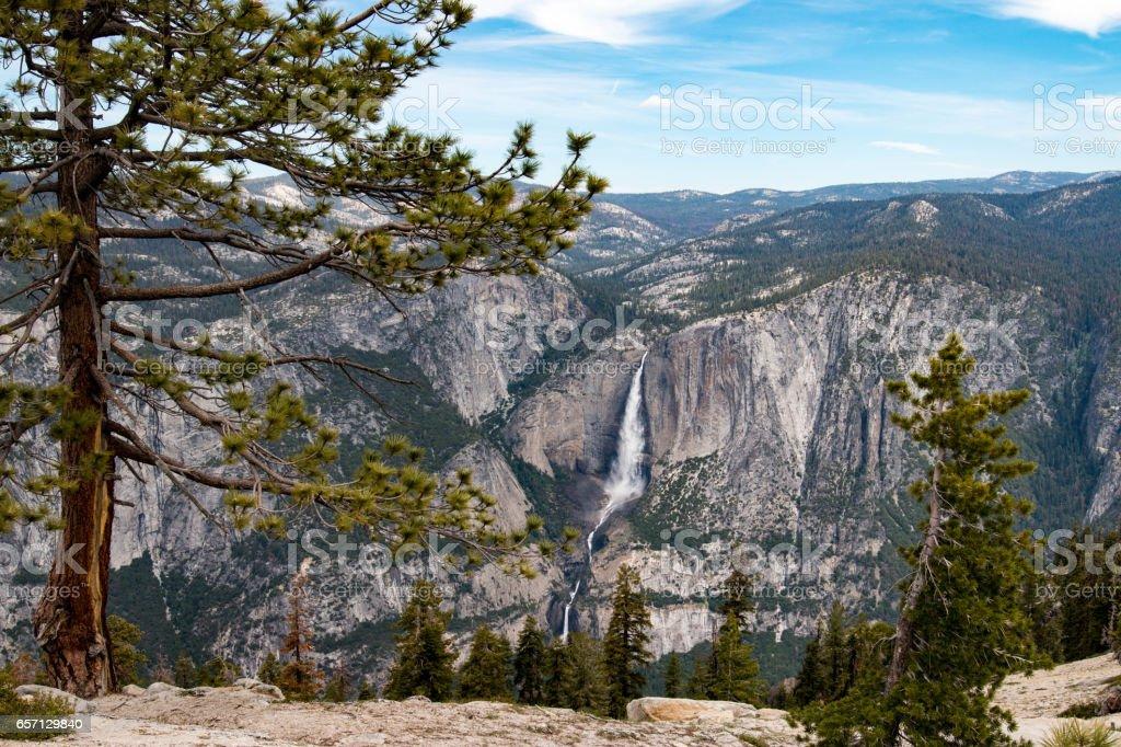 Yosemite Falls, Yosemite National Park, California stock photo