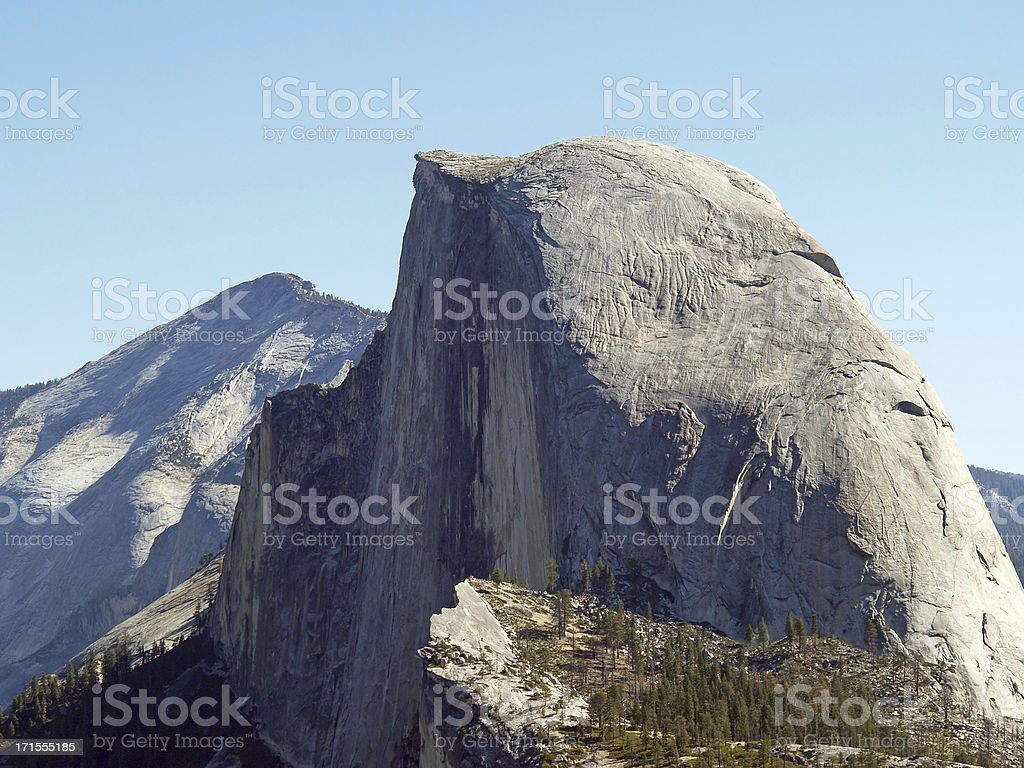 Yosemite. Half Dome royalty-free stock photo