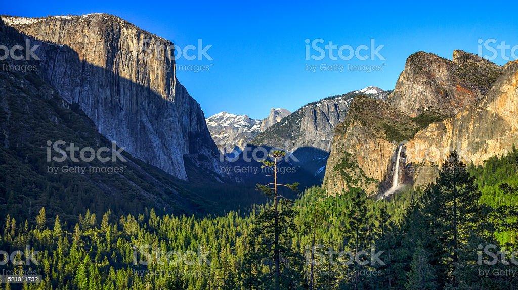 Yosemite National Park, California stock photo