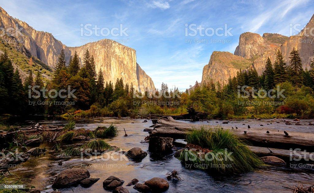 Yosemite National Park- el Capitan stock photo