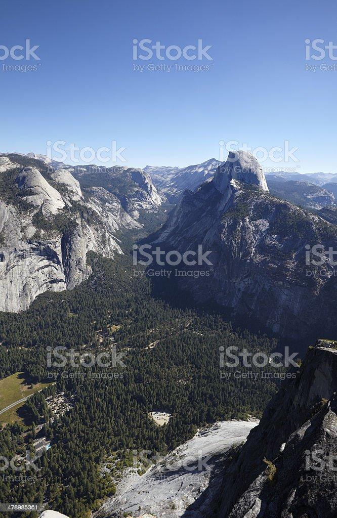 Yosemite National Park : Half Dome royalty-free stock photo