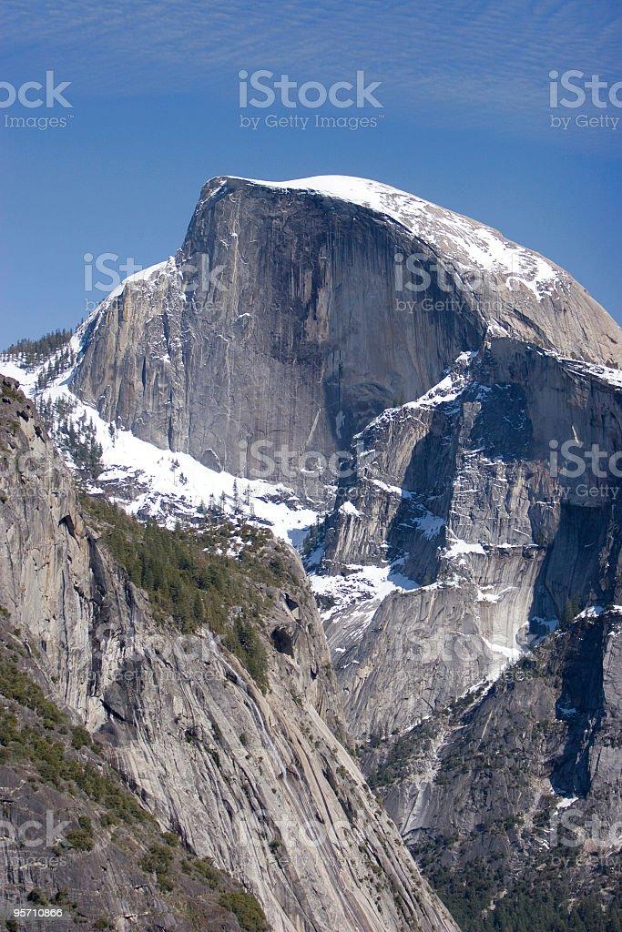 Yosemite National Park' Half Dome stock photo