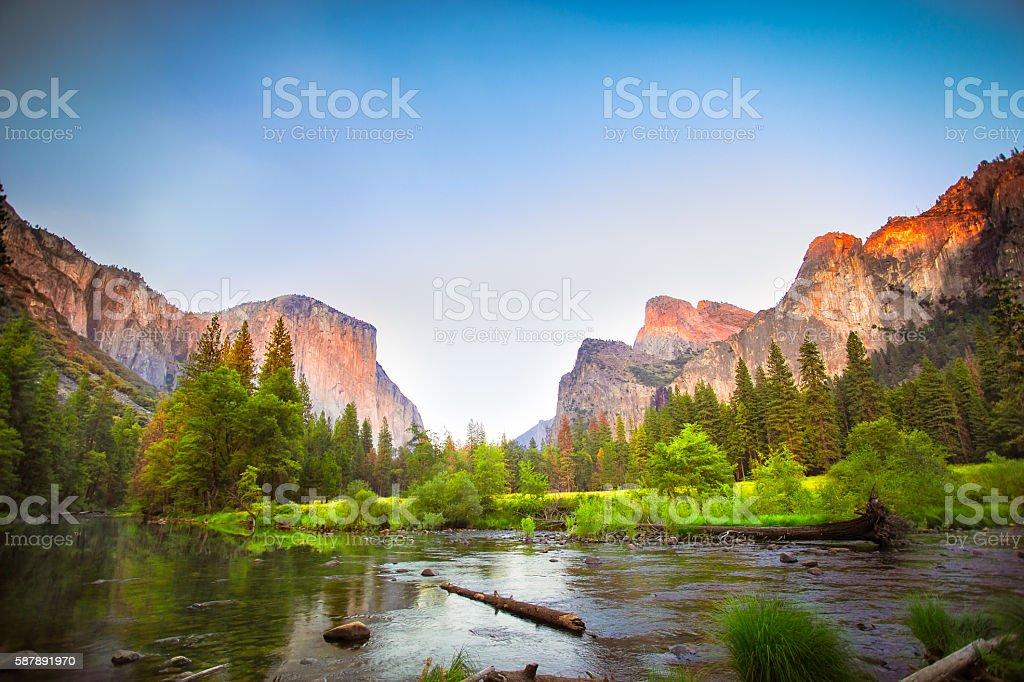Yosemite National Park stock photo