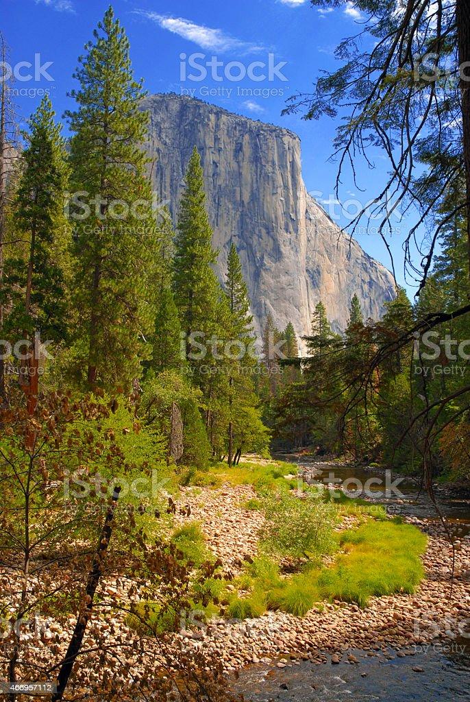 Yosemite National Park, Sierra Nevada Mountains, California stock photo