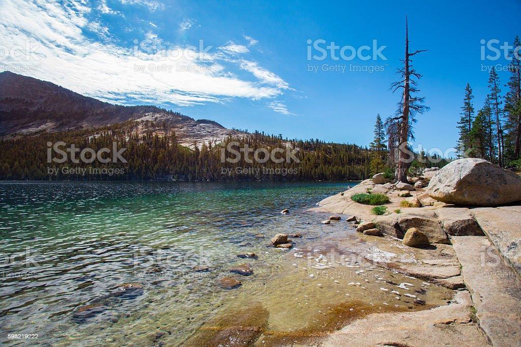 Yosemite National Park Tenaya Lake stock photo