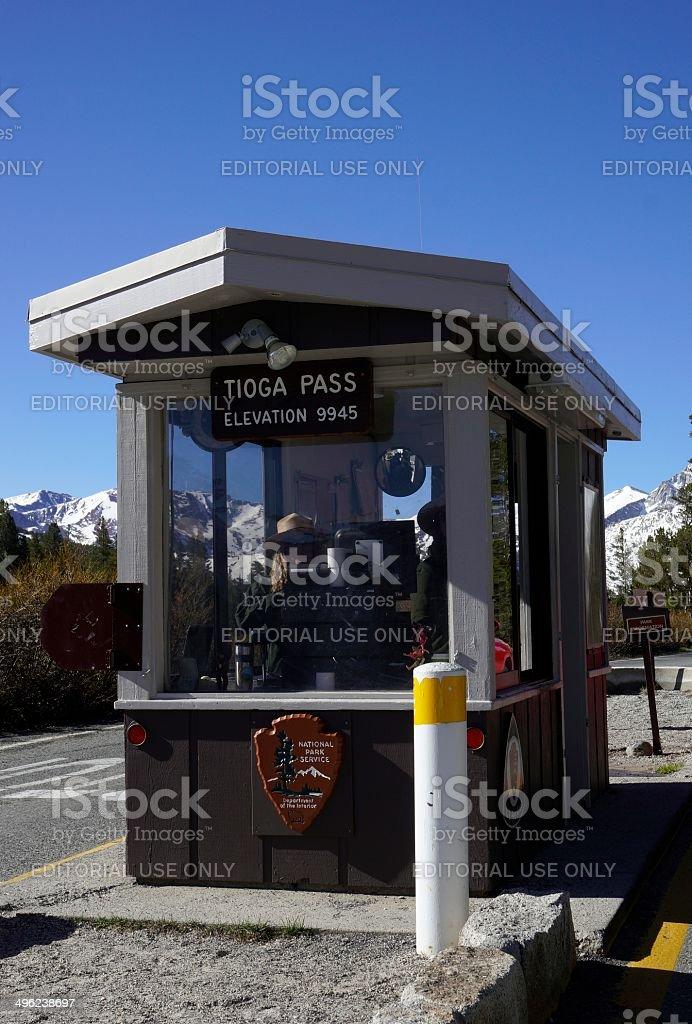 Yosemite National Park, Tioga Pass Entrance royalty-free stock photo