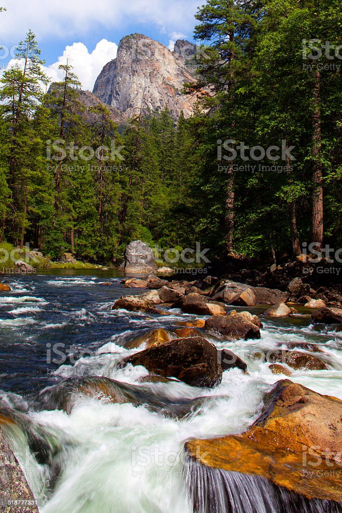 Yosemite National Park, USA royalty-free stock photo