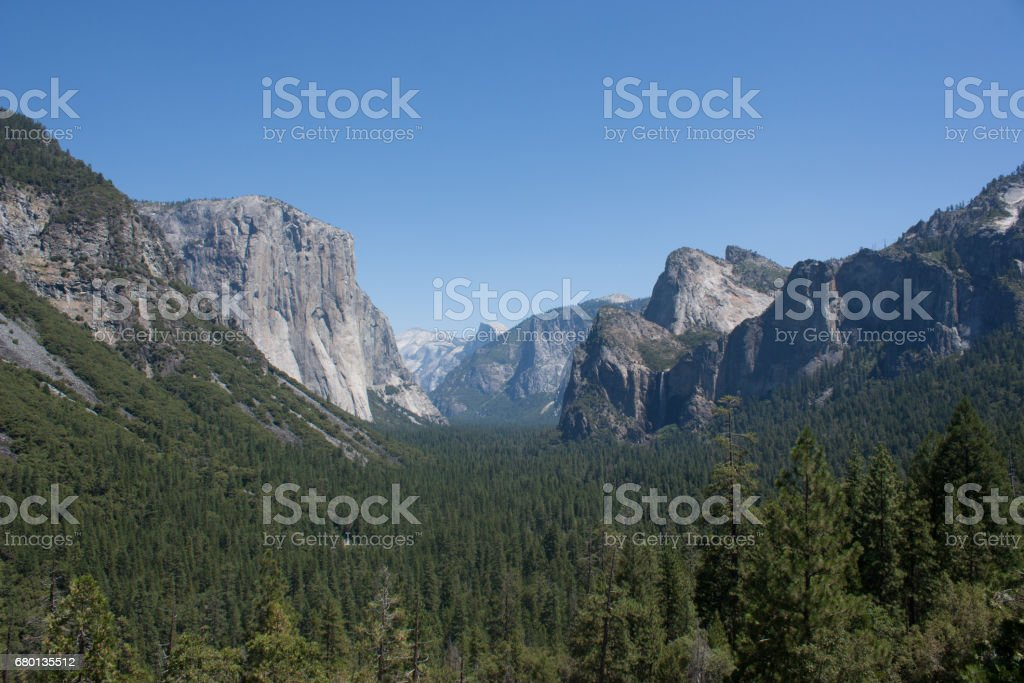 Yosemite national park USA Roadtrip stock photo
