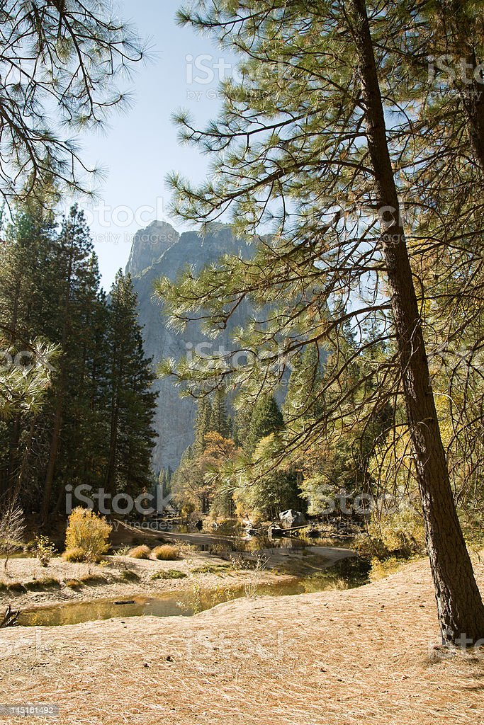 Yosemite Stream royalty-free stock photo