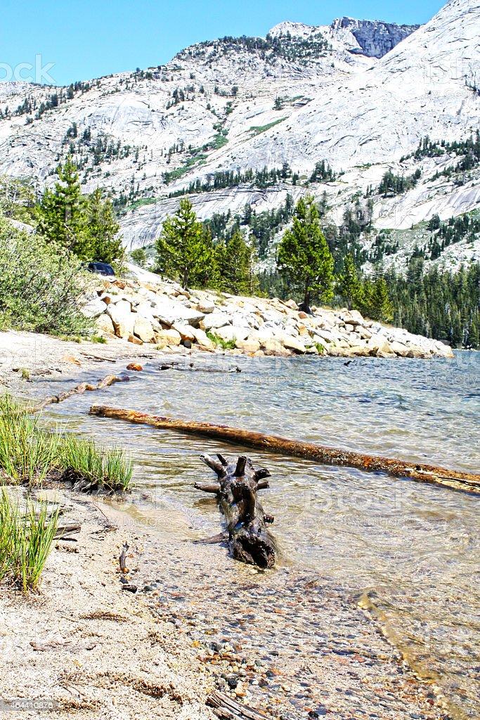 Yosemite Tuolomne Lake stock photo
