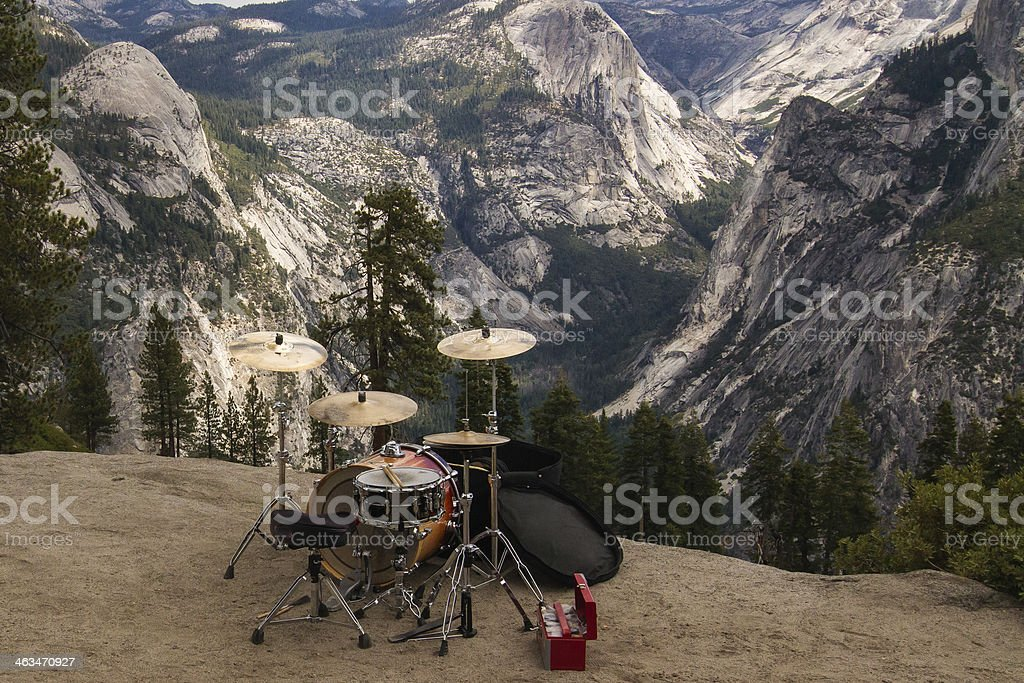 Yosemite Valley Drum Beat... stock photo