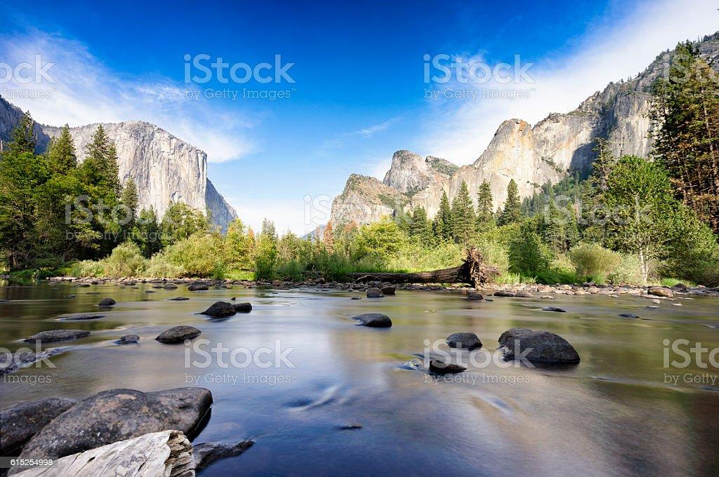 Yosemite Valley National Park stock photo