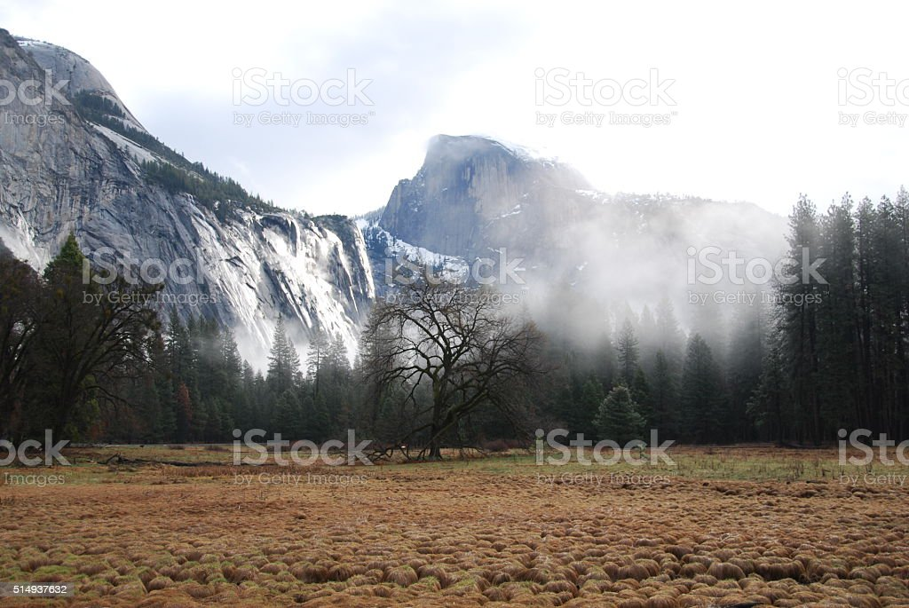 O Yosemite valley foto royalty-free