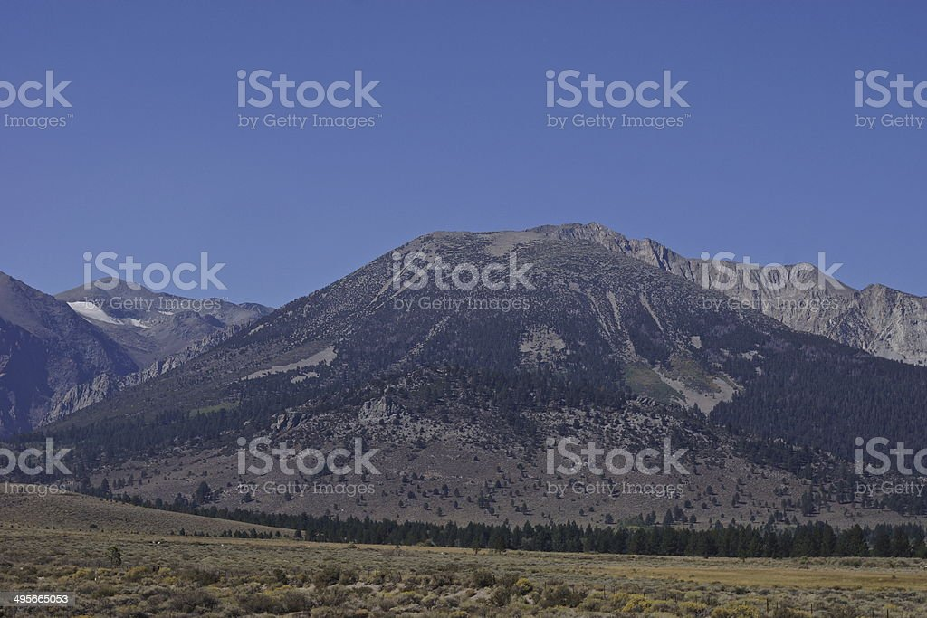 Yosemite's Edge stock photo