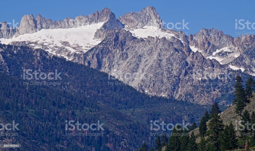 Yosemite's Edge stock photo