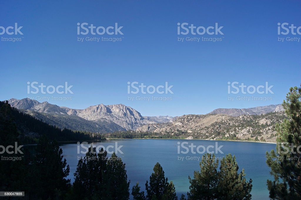 Yosemite's June Lake stock photo