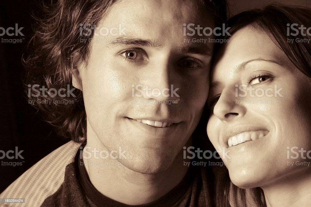 You and me royalty-free stock photo