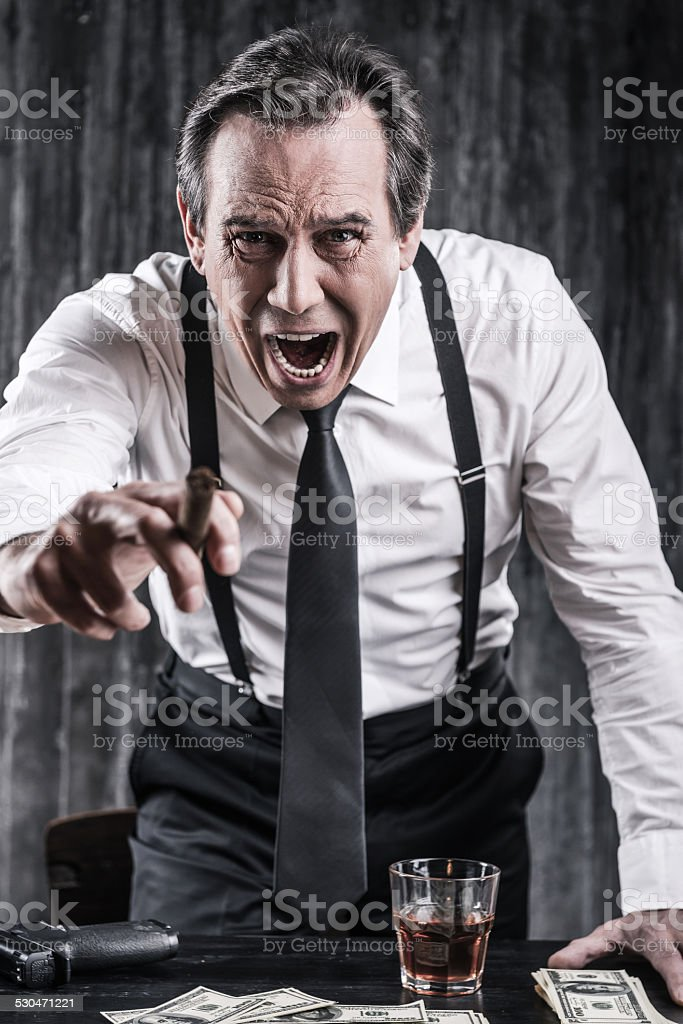 You are dead body! stock photo