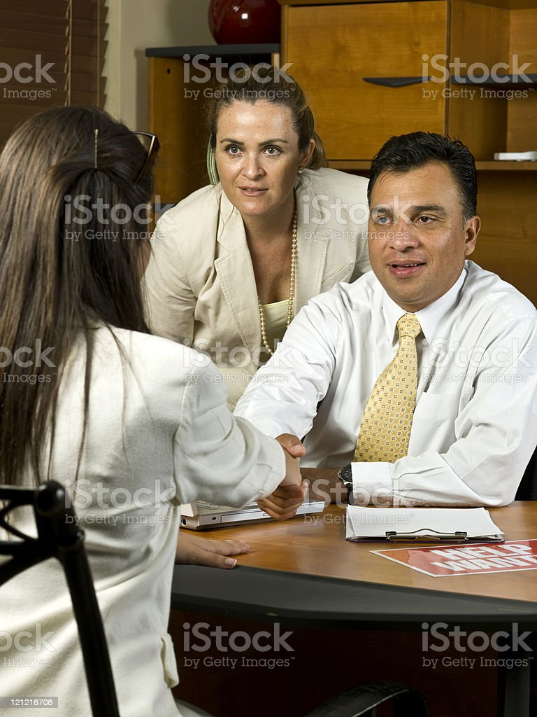 You are hired! royalty-free stock photo