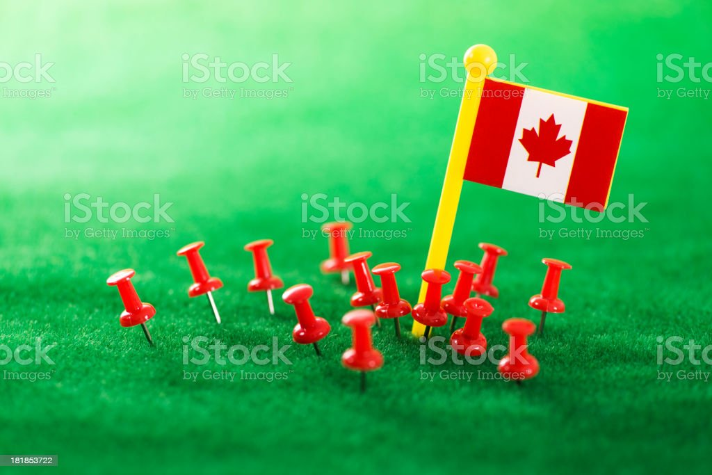 you are in Canada royalty-free stock photo