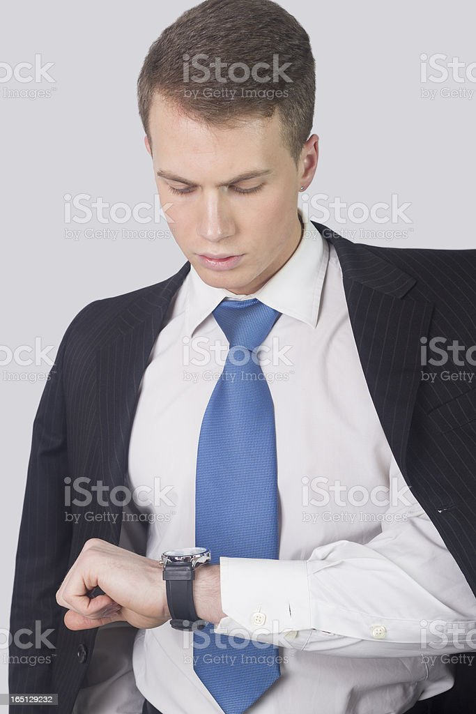 You are late?! royalty-free stock photo