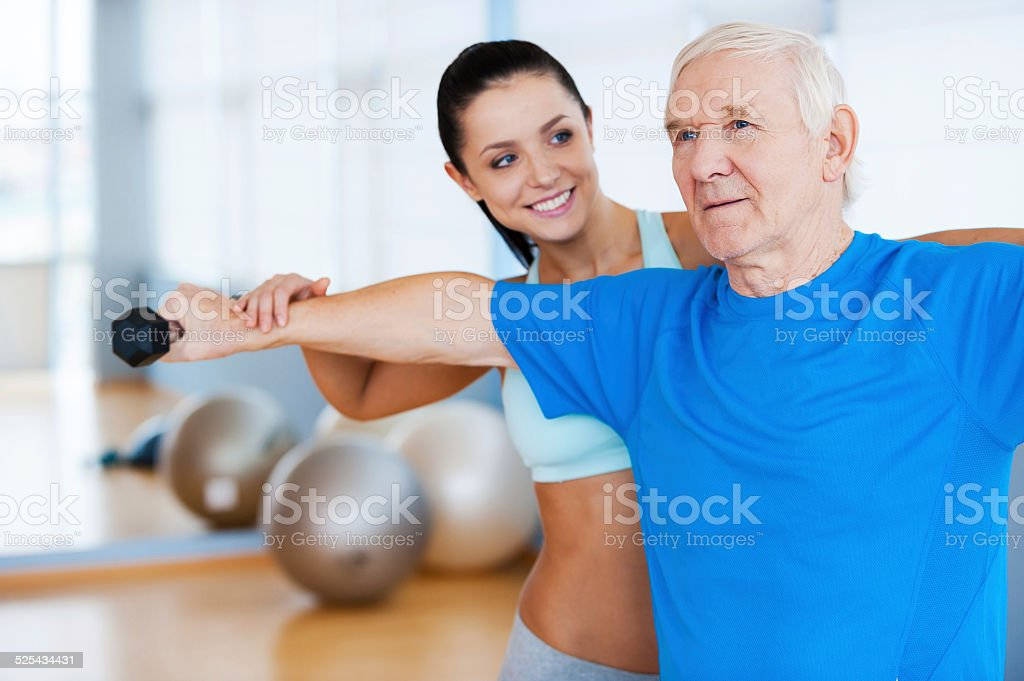 You are making progress! stock photo
