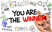 you are the winner