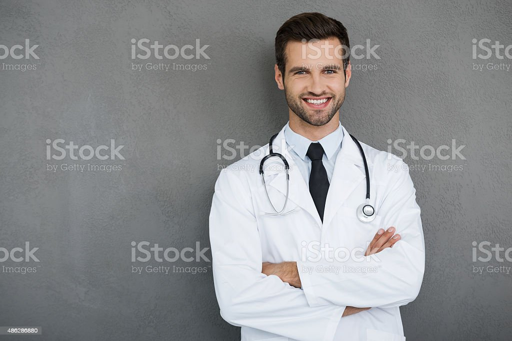 You can absolutely trust me. stock photo