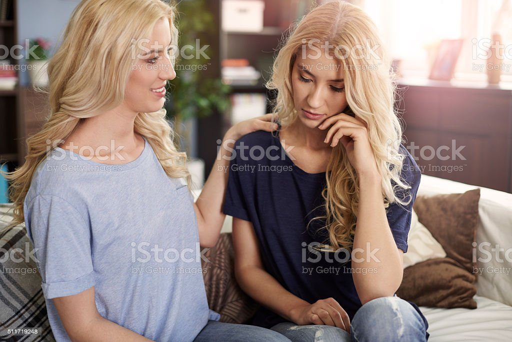 You can always count for sister stock photo