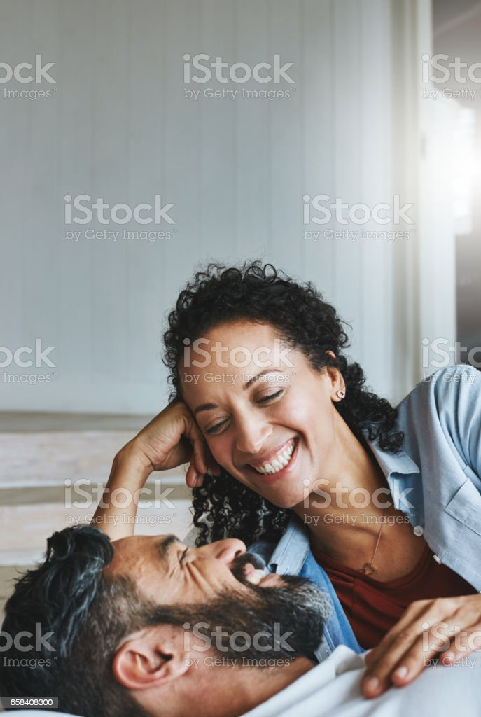 You can always make me laugh stock photo