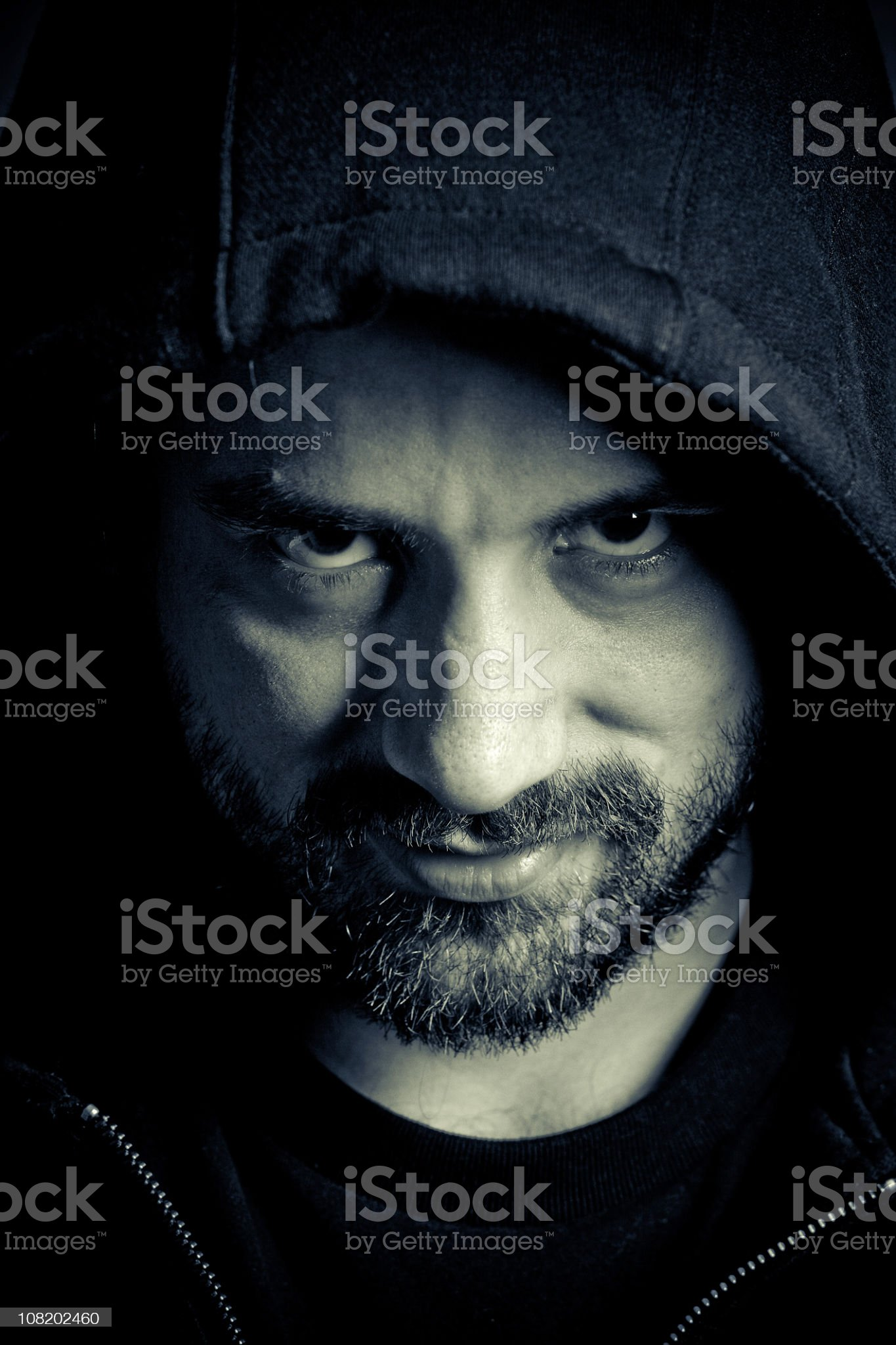 you can call me mr. Mean royalty-free stock photo