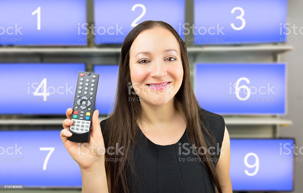 you can choose your favourite channel stock photo