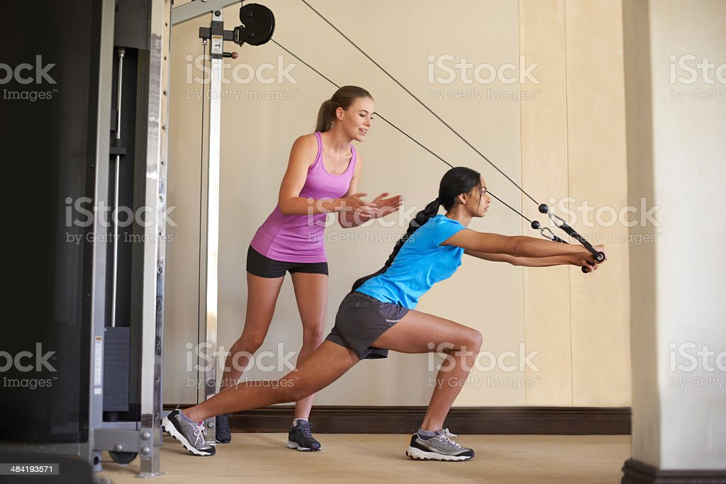 You can do this! stock photo