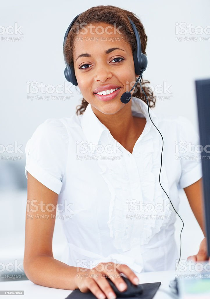 You can expect a positive response to your queries stock photo