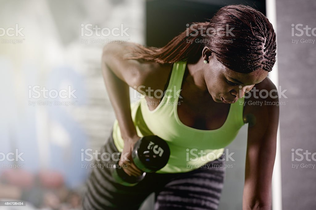 You can never go wrong with strong stock photo