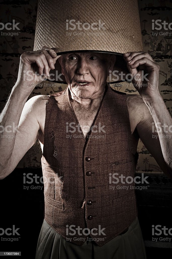 you can run but can't hide stock photo