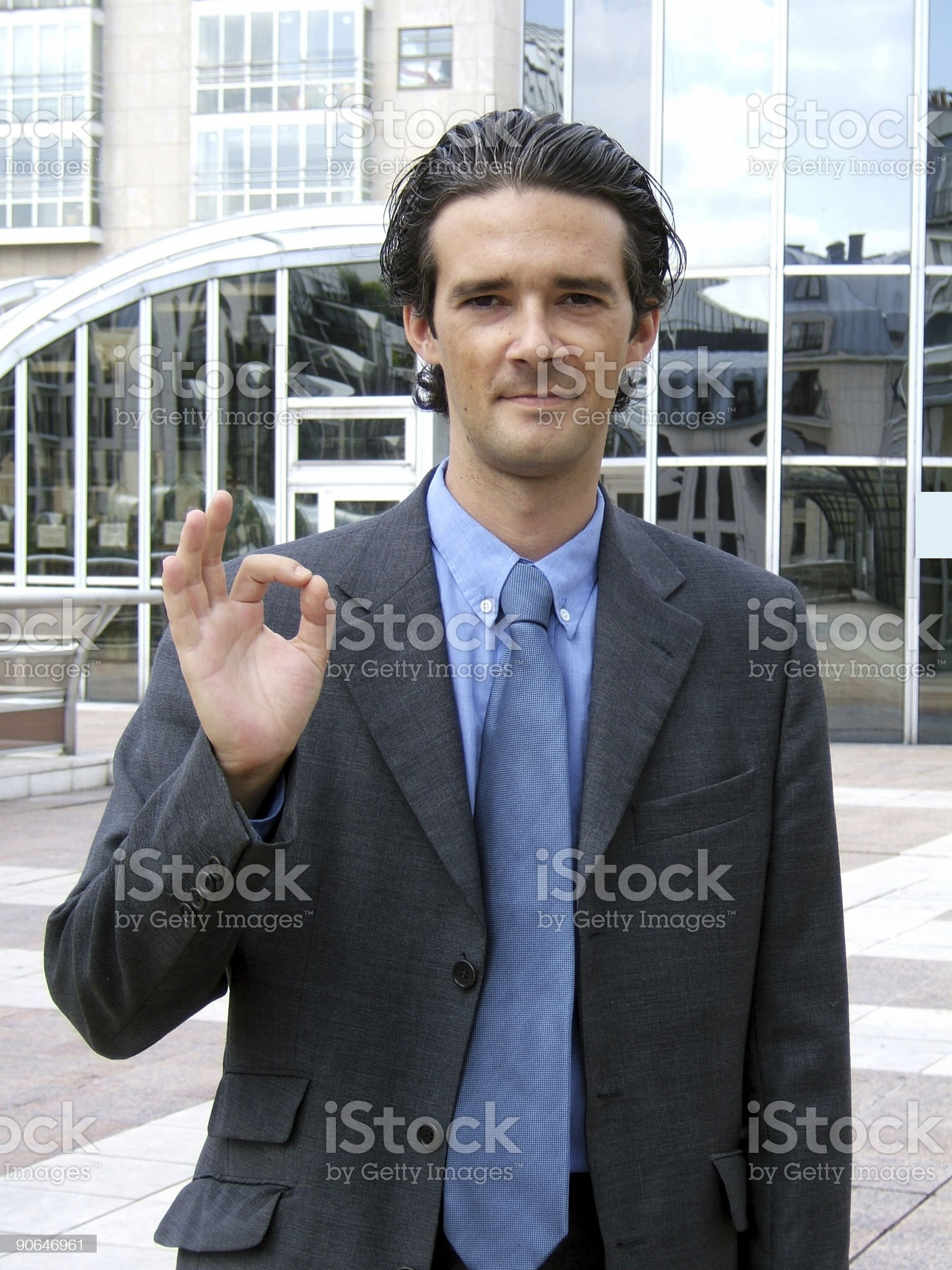 You can trust him royalty-free stock photo