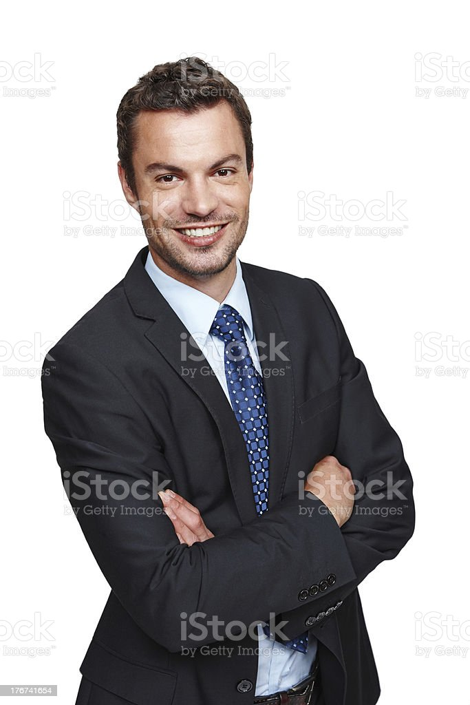 You can trust his financial advice! royalty-free stock photo